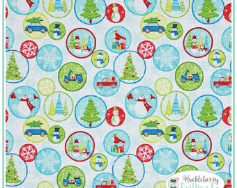 Mulberry Lane, Holiday Fun, Yardage, Cherry Guidry, Benartex Fabric, Christmas Fabric