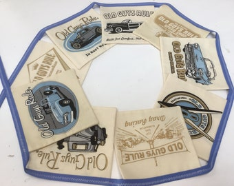 Handcrafted 'Old Gits Rule' Bunting - 100% Cotton
