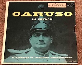 Caruso In French-A Treasury of Immortal Performances