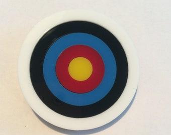 PRE ORDER: Archery Target Brooch