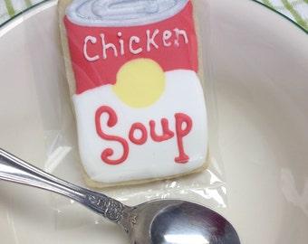 Chicken Soup - sugar cookies