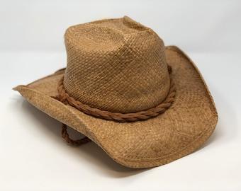 Authentic Shady Brady Raffia Hat