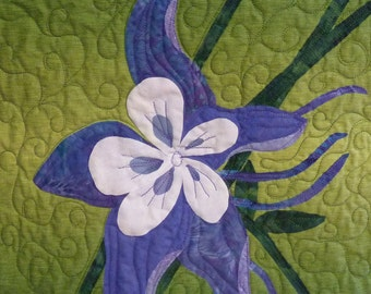 Columbine quilt pattern - ON SALE