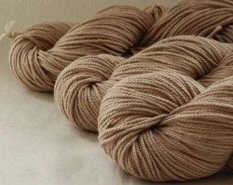 BEIGE ~ ARAN Pure natural Cotton yarn ~ co.no 2