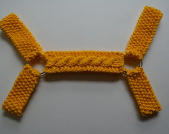Yellow Harness, Bulldog Harness, Gay Harness, The Code Remix Harness, Gay Pride Harness, The Hanky Code Harness