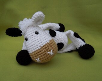 My Friend Cow Matylda - Amigurumi Crochet Pattern / PDF e-Book / Stuffed Animal Tutorial