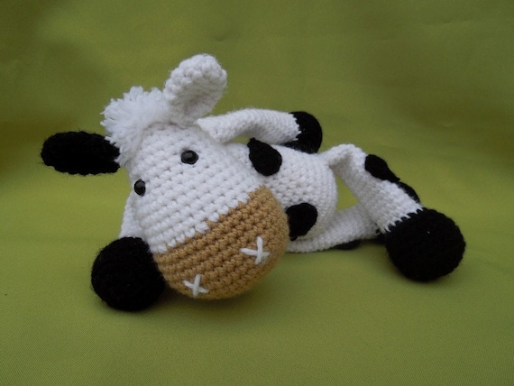 Amigurumi Crochet Books : My friend cow matylda amigurumi crochet pattern pdf e book