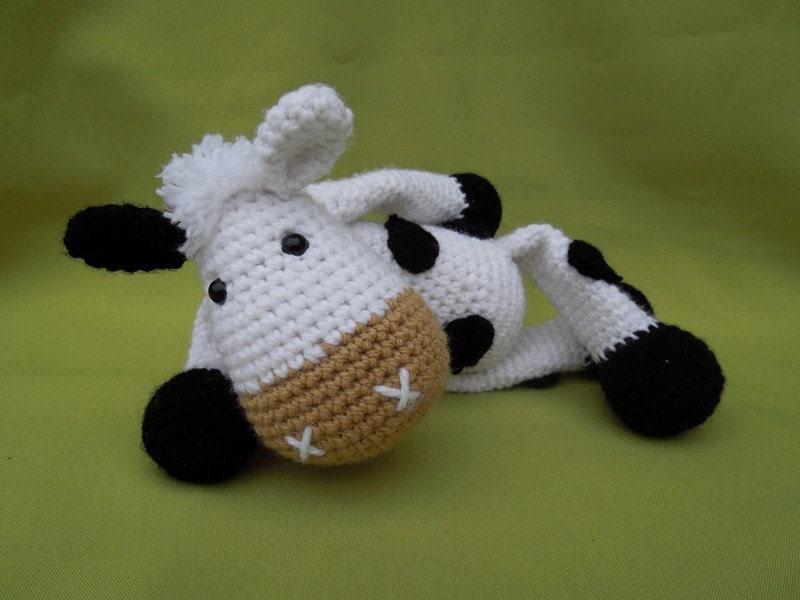 Amigurumi Magazine Pdf : My friend cow matylda amigurumi crochet pattern pdf e book