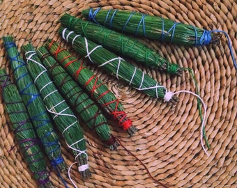 White Pine Smudge Stick - foraged and wildcrafted - handmade incense - for meditation - protection, cleansing, balance, harmony