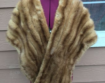 Vintage Malcolm and Hensel fur stole