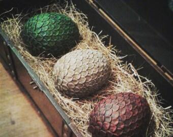 Full Set of Full Size Game of Thrones Dragon Eggs
