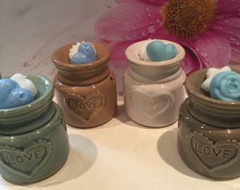 Heart Glazed Love Wax Warmer/Oil Burner