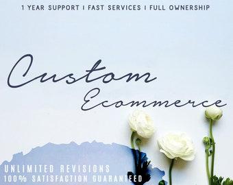 Ecommerce Website, Custom Website Design, Online Shopping Store, Shopping Website, Online Shop, Online Store, Wordpress Website, Woocommerce