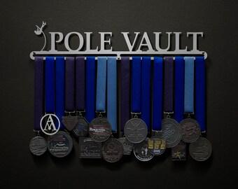 Pole Vault - Male OR Female options - Allied Medal Hanger Holder Display Rack