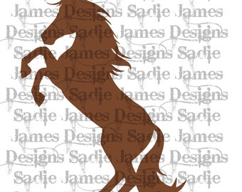 Horse SVG and Silhouette Studio cutting file, Instant Download