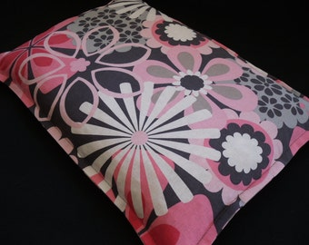 Microwave Corn Bags, Heat Pack, Corn Heating Pad, Relaxation Gift, Hot Cold Massage Therapy, Bed Warmer, Dorm Room Idea, Gift For Her, Pink