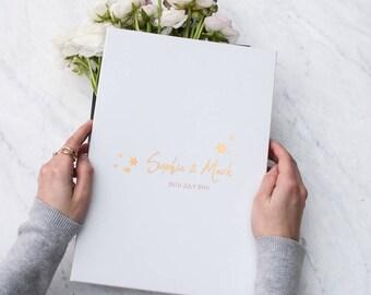 Personalised Wedding Date Keepsake Gift Box, wedding card box, wedding favour box, couples gift box, mr and mrs gift, wedding gift