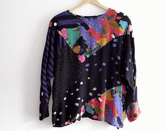 Vintage Patchwork nothing matches Shirt