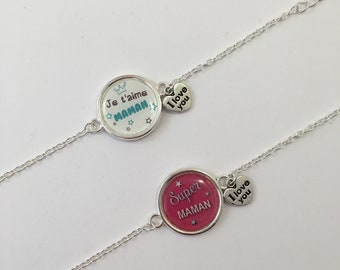 Bracelet silver special MOM