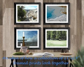 Yellowstone Set 2, Wall Art, Nature Prints, Digital Download