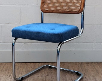 Vintage Cantilever Cesca Chair – Marcel Breuer Style Chair – Vintage Dining Chair