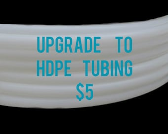 HDPE Add-on for DanceHoop Hula Hoops 3/4 and 5/8 OD NATURAL white