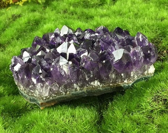 """Amethyst Crystal Cluster 3 1/2""""  from Uruguay  A297"""