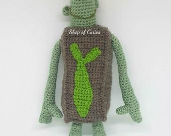 Handmade Crochet Boxtroll Fish