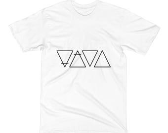 Earth, Air, Water Fire T-Shirt, Minimalistic T-Shirt, Simple T-Shirt, Indie T-Shirt, Hipster T-Shirt, Basic Tee, Triangles T-Shirt, Geometic