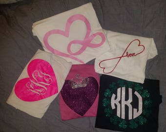 Valentines and St Patrick Day Custom Shirts
