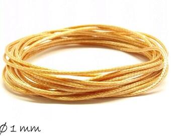 Designed, beige, light brown (smooth), Ø 1 mm