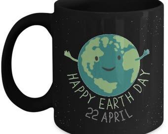 Happy Earth Day, Earth Day Mug, Earth mug, Earth Coffee mug