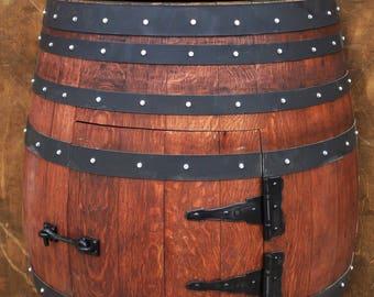 Wine Barrel Bathroom Vanity. Rustic Wood Art Half Wine Barrel Bathroom Sink Vanity Optional Hammered Copper Sink Faucet
