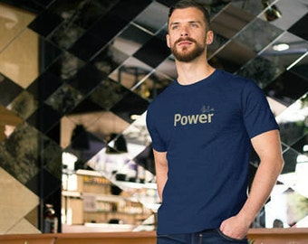 Power men's t shirt /Power t-shirt/ Dragon T-Shirt / Dragon wisdom tee / Men's t-shirt / Life is Balance / yoga tee