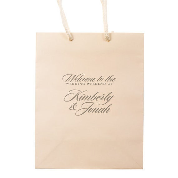 Unique Wedding Welcome Bag Ideas: Wedding Welcome Bags Personalized Hotel Guest Bag Party