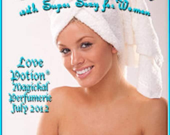 Sneaky Clean w/ Super Sexy for Women - Pheromone Enhanced Perfume - Love Potion Magickal Perfumerie