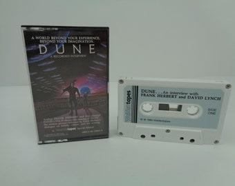 Dune A Recorded Interview David Lynch Frank Herbert Cassette Tape