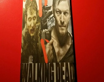Walking Dead door hanger sign personalised