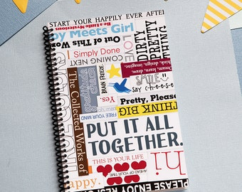 Put It All Together Monthly Planner 2018