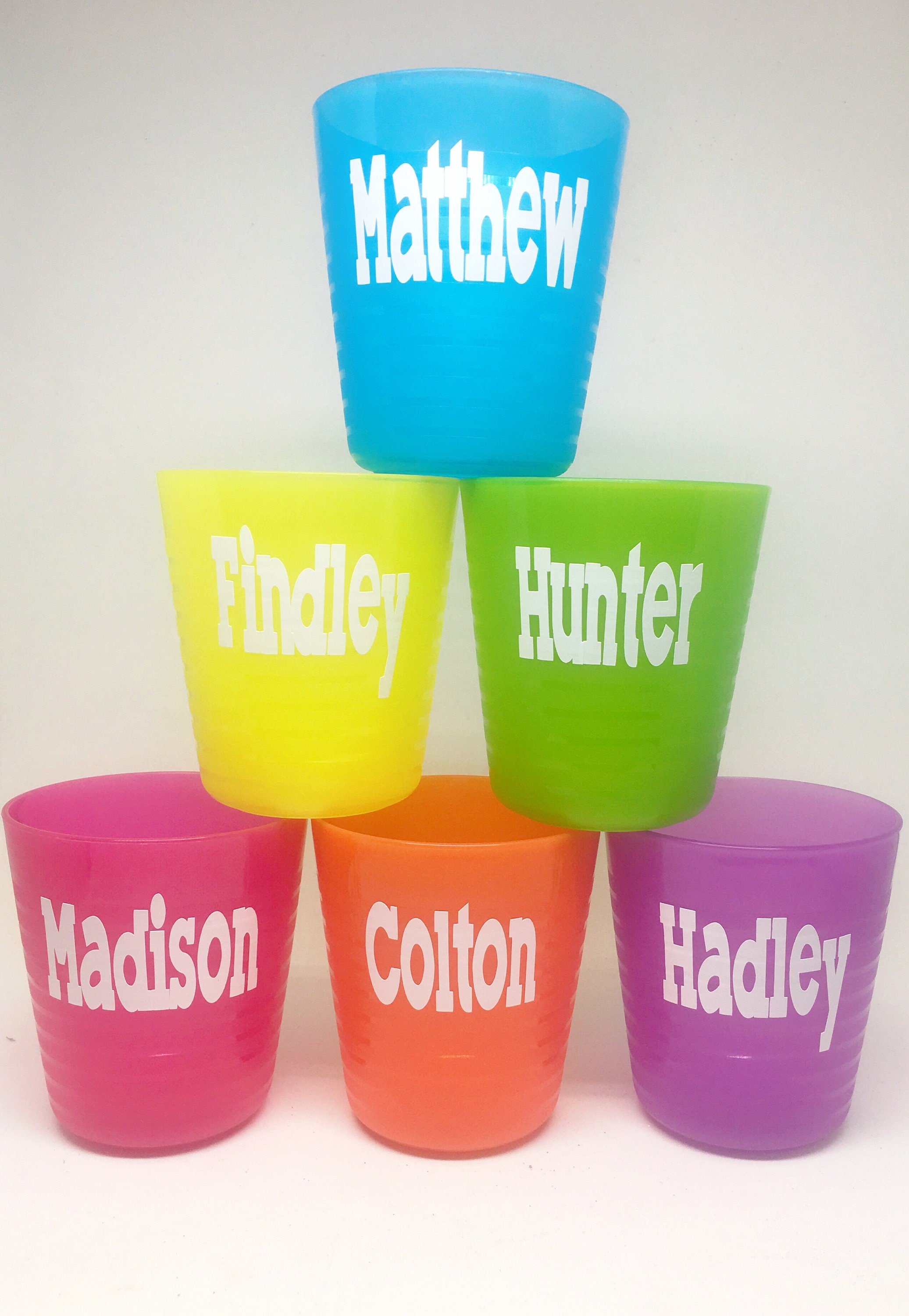 personalized kids cup party favor first birthday