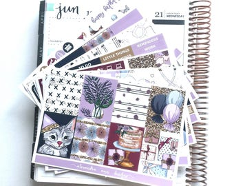Celebrate! Weekly Planner Sticker Kit