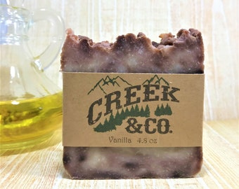 Vanilla Soap, rustic soap, handcrafted soap, artisan soap, kitchen soap, homemade soap, scented soap, handmade soap, bar soap, bath soap