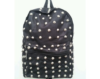 Street Style Studded Backpack
