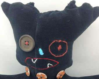 Feminist Gift/Anti-Trump Resistance/Protest Trump/Stuffed monster/Fierce monster/Empowerment tool/Monster Plushie/Monster Stuffie