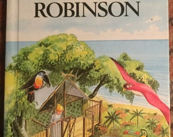 Vintage Ladybird Classic Book - The Swiss Family Robinson
