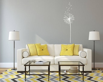 Dandelion Wall Decal - Great For Home, Bedroom And Living Room Decor