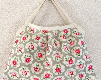 SALE! Reversible Shopper Bag - Cath Kidston / Yuwa cotton - linen