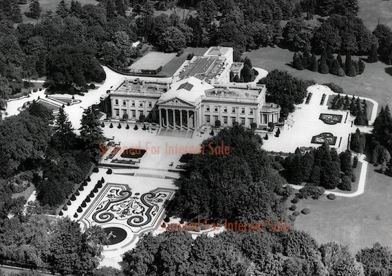 Widener Estate Lynnewood Hall Elkins Park Pa Sank On Titanic