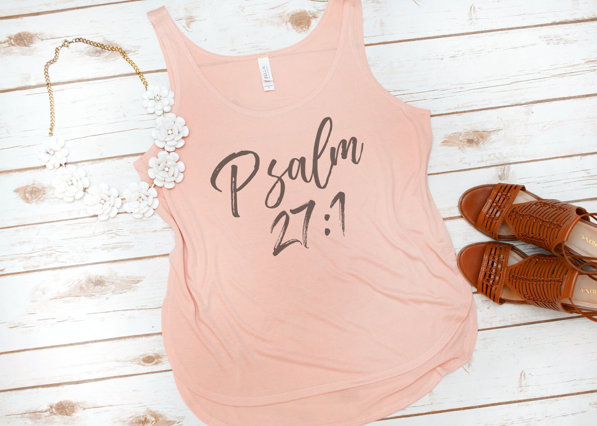 Christian Tank Bible Verse Psalm 27 Jesus Faith Love