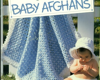 Our BEST BABY AFGHANS Leisure Arts 2853 All Crochet Patterns 54 Total